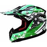 YEMA Casco Moto Bambino Motocross Integrale YM-211 Caschi Bambini Motard Cross Integrali Downhill DH ECE Omologato Ragazza Ragazzo, L