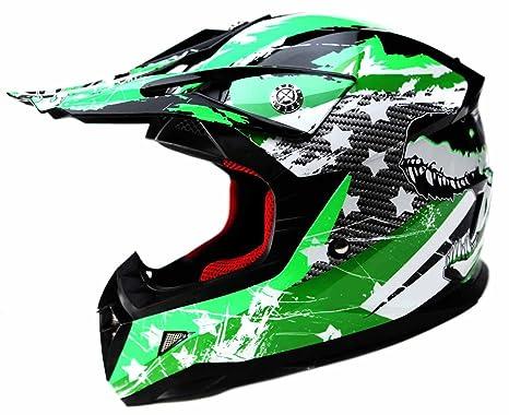 Motocross Youth Kids Helmet DOT Approved - YEMA YM-211 Motorbike Moped Motorcycle Off Road Full Face Crash Downhill DH Four Wheeler Helmet for Street ...