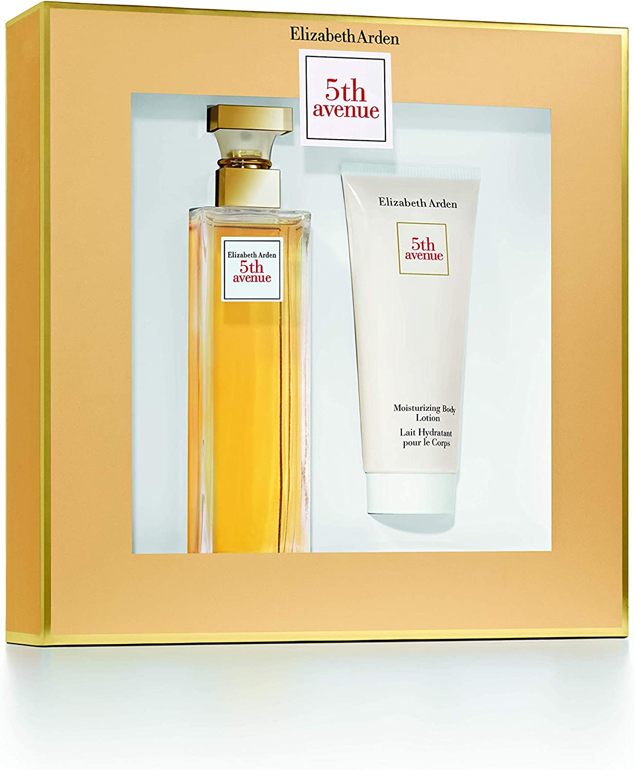ELIZABETH ARDEN 5 TH AVENUE EDP 125ML VP. + B/L 100 ML SET REGALO: Amazon.es: Belleza