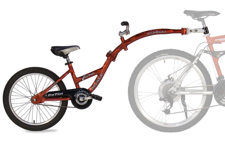 【並行輸入品】WeeRide(ウィーライド) Co-Pilot バイク トレイラー(レッド)+NONOKUROオリジナルグッズの付セット商品   B00KMXLLFS