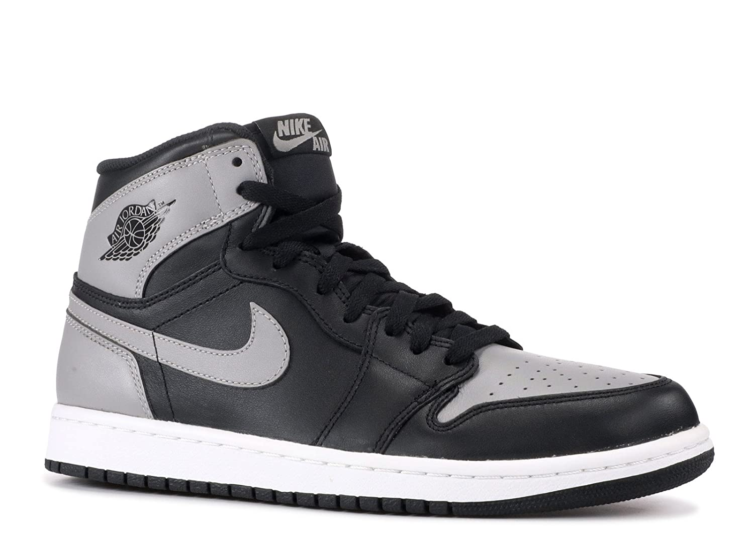 NIKE Air Jordan 1 Retro High OG (Shadow) Black/Soft Grey