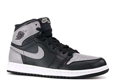 Nike Air Jordan 1 Retro High OG (Shadow) Black Soft Grey (10 081446c041f9