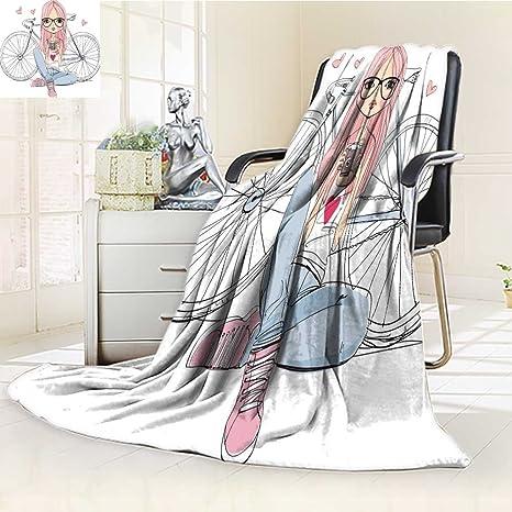 Amazon.com: socomimi 300 G/m2 manta de forro polar niña ...