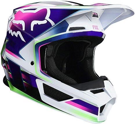 Amazon.com: Fox Racing Gama V1 Casco de moto todoterreno ...