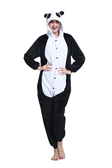 8cdfb7cdb0a4 Amazon.com  Unisex Adult Animal Costumes Cosplay Onesie Plush One ...