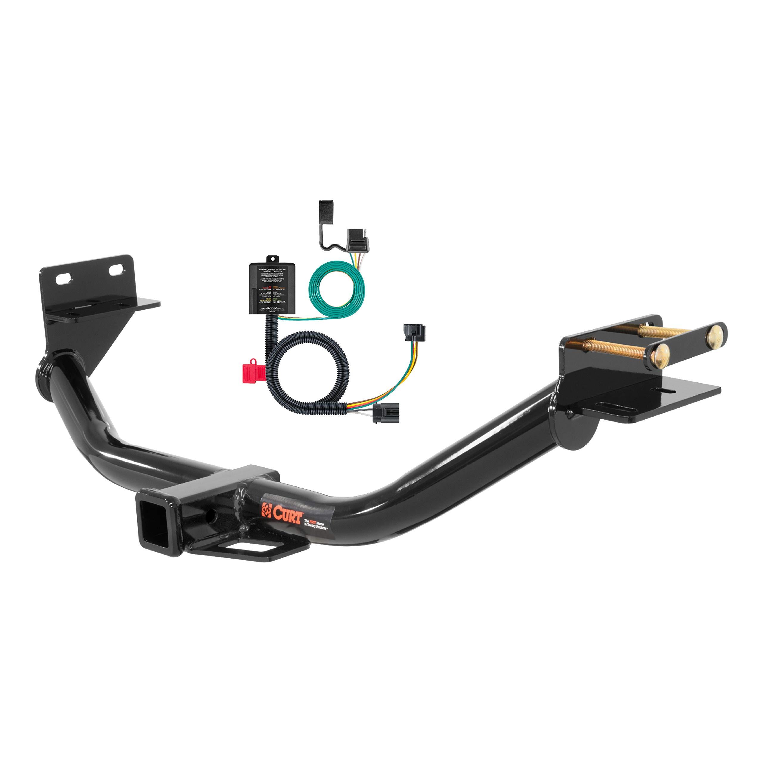 CURT 99314 Class 3 Trailer Hitch, 2-Inch Receiver, 4-Pin Wiring Harness Select Kia Sorento, Hyundai Santa Fe by CURT