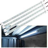 12V Interior LED Light Bar, 700LM 3W DC 12V LED Light Strip with Switch for Car, 6500K White Light for Trailer, Truck…