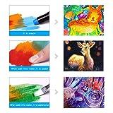 Jar Melo Washable Crayons -36 Colors; Non