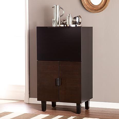 Amazon.com: Redding Bar Cabinet: Kitchen & Dining
