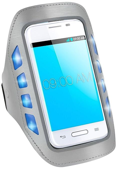 "Area ARMBANDLEDB4GR 4"" Brazalete caso Azul funda para teléfono móvil - Fundas para teléfonos móviles"