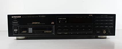 Pioneer PD-M550 6 Disc Compact Disc CD Changer Player
