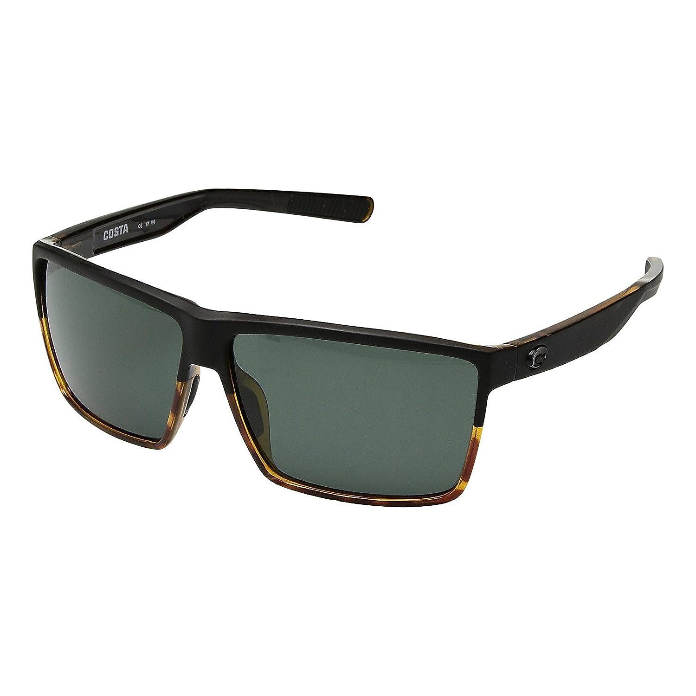 Costa Del Mar Costa Del Mar RIN181OGGLP Rincon Gray 580G Matte Black//Shiny Tortoise Frame Rincon Gray 580G Matte Black//Shiny Tortoise Frame