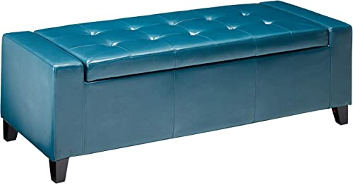Christopher Knight Home Guernsey PU Storage Ottoman