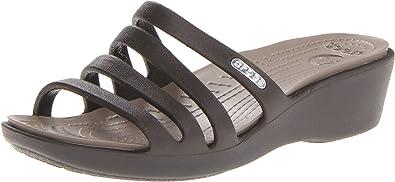 fc2fba0d3ea5 Crocs Women s Rhonda Wedge Sandal Wedge Heels Sandals