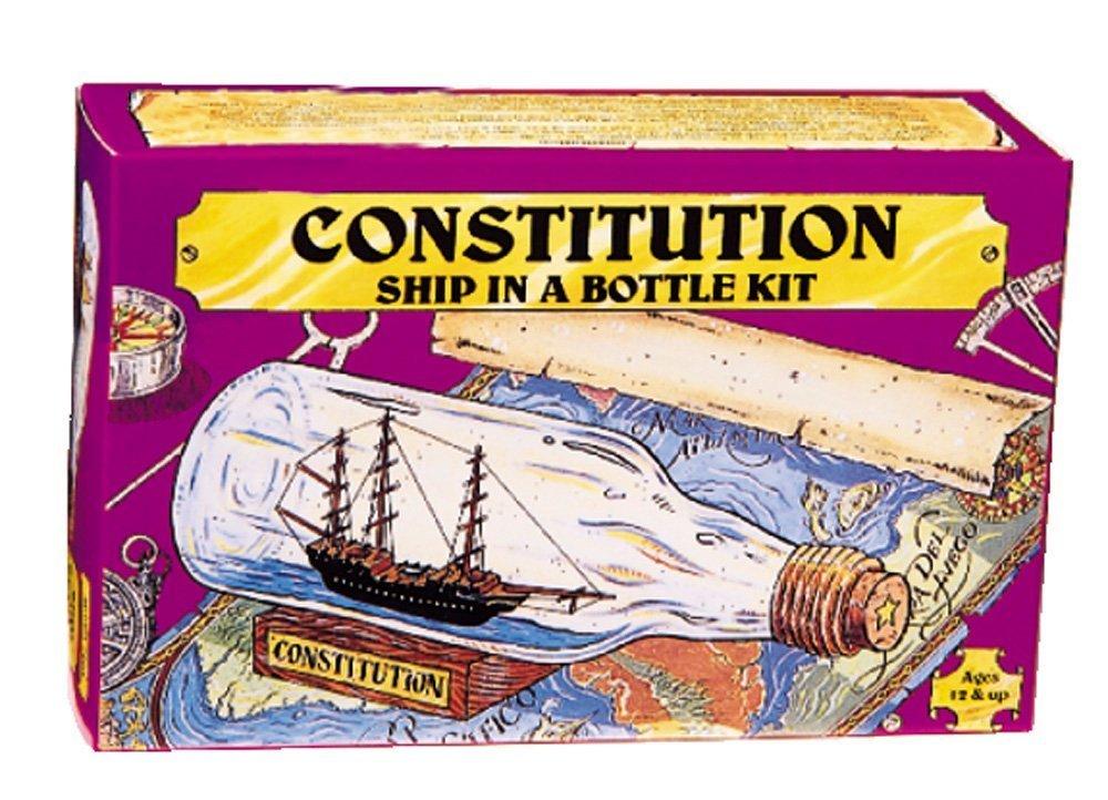 203 Ship in Bottle Constitution Kit