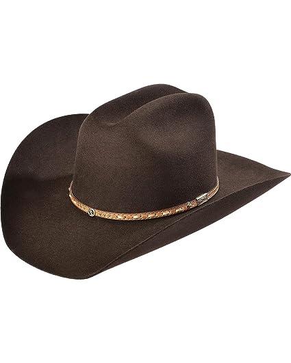 ef83c2970f3 Larry Mahan Men s 3X Granger Chocolate Xtreme Cowboy Hat Chocolate 6 ...