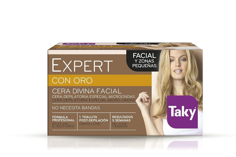 Taky - Expert Oro Cera Depilatoria Facial Microondas, 100 g ...