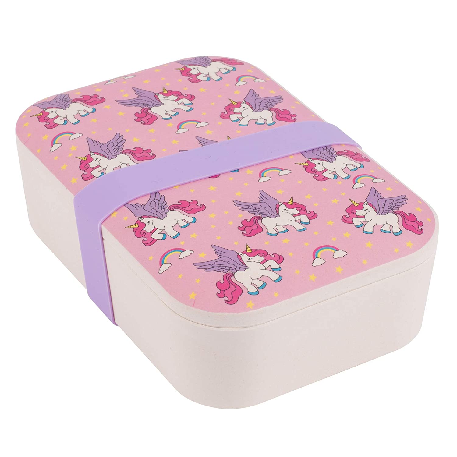 Cambridge CM06267 Posy Bamboo Eco Lunch Box, 19cm