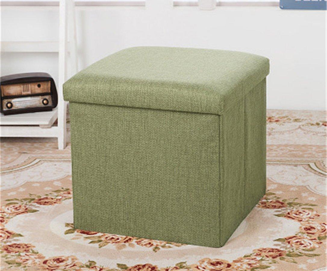 Foldable Ottoman Storage Box Cum Stool