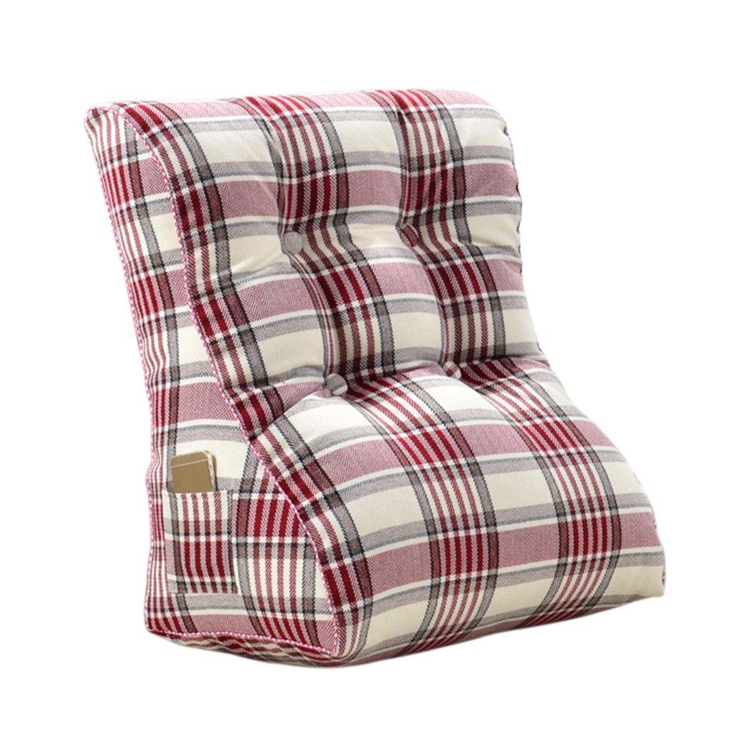 Creative Light-Kissen Dreieck Kissen Doppelbett mit großen Kissen Bett zurück zu waschbar ( Farbe   G , größe   55 cm ) B07B8ZZRFS Kopfkissenbezüge