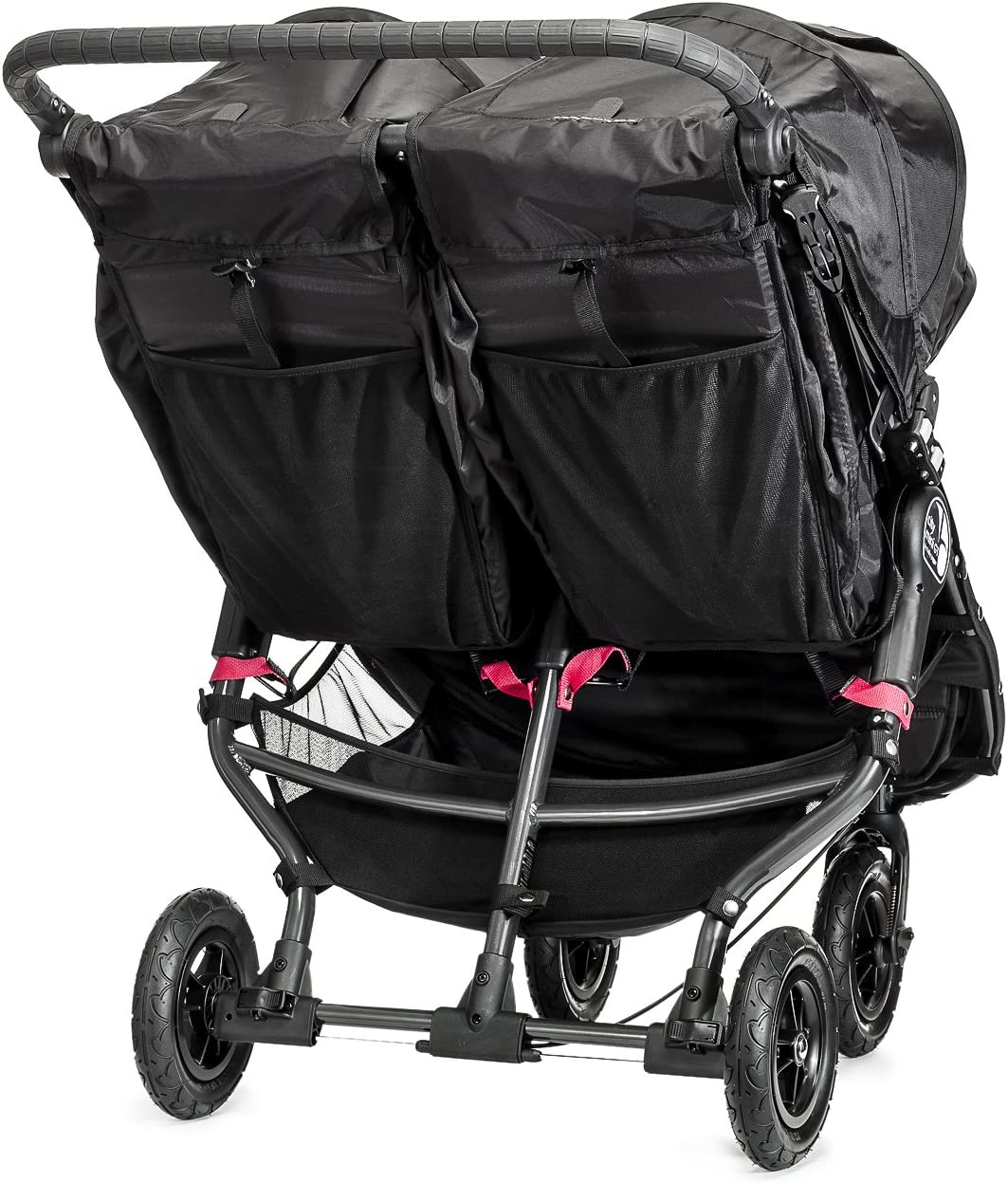 Silla de paseo color negro Baby Jogger City Mini GT Gemelar
