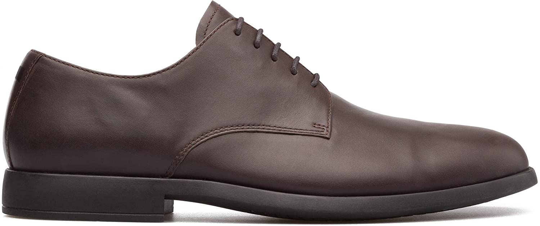 TALLA 44 EU. Camper Truman, Zapatos de Cordones Derby para Hombre