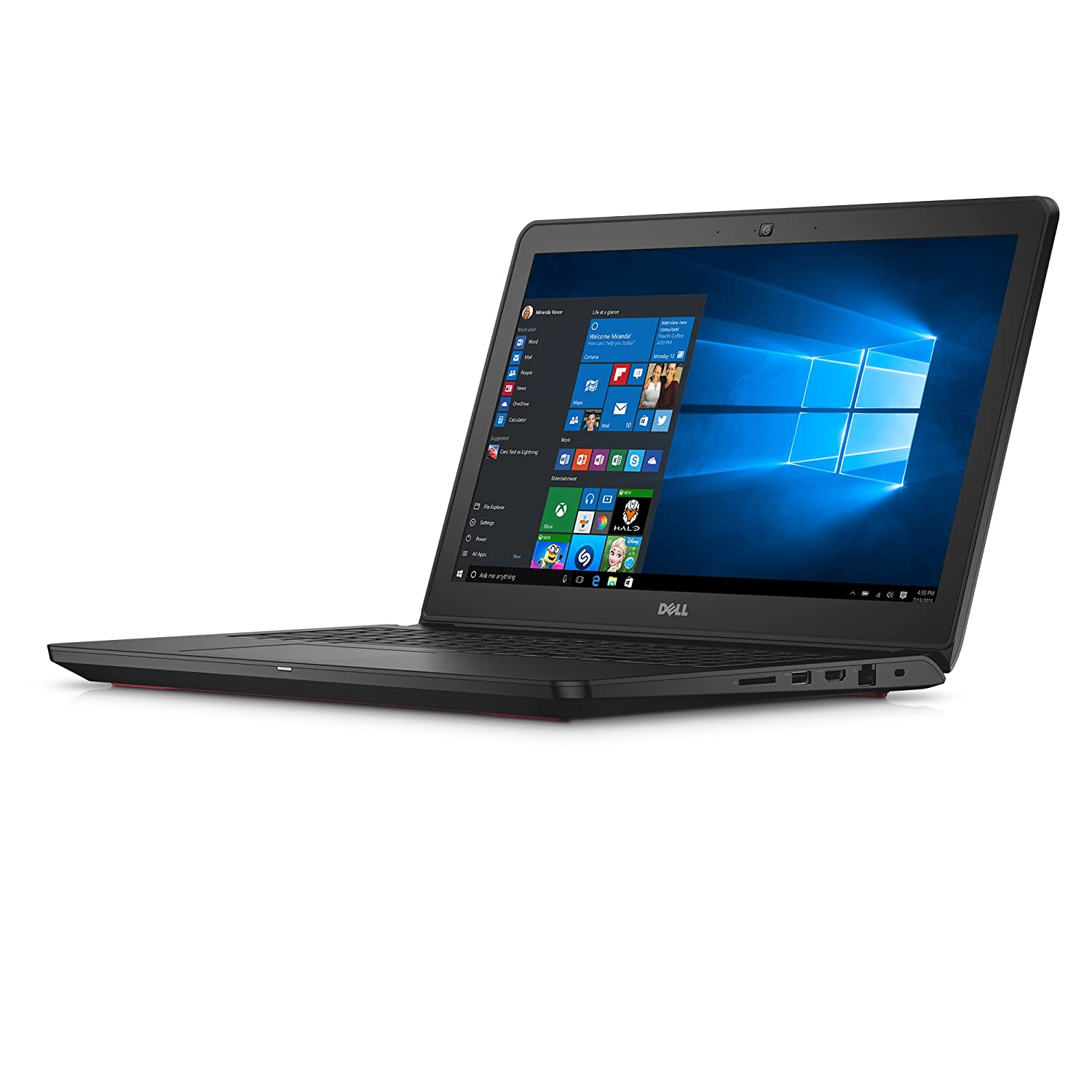 Dell Inspiron i7559-5012GRY 15.6 Inch Touchscreen Laptop (6th Generation Intel Core i7, 8 GB RAM, 1 TB HDD + 8 GB SSD) NVIDIA GeForce GTX 960M, Microsoft Signature Edition