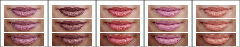 Burt s Bees 100 Natural Moisturizing Lip Shimmers Fruity Bundle – Watermelon, Plum, Cherry, Strawberry, and Apricot