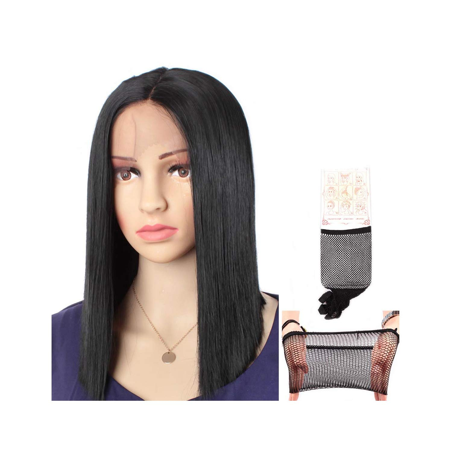 Amazon.com : Straight Synthetic Lace Front