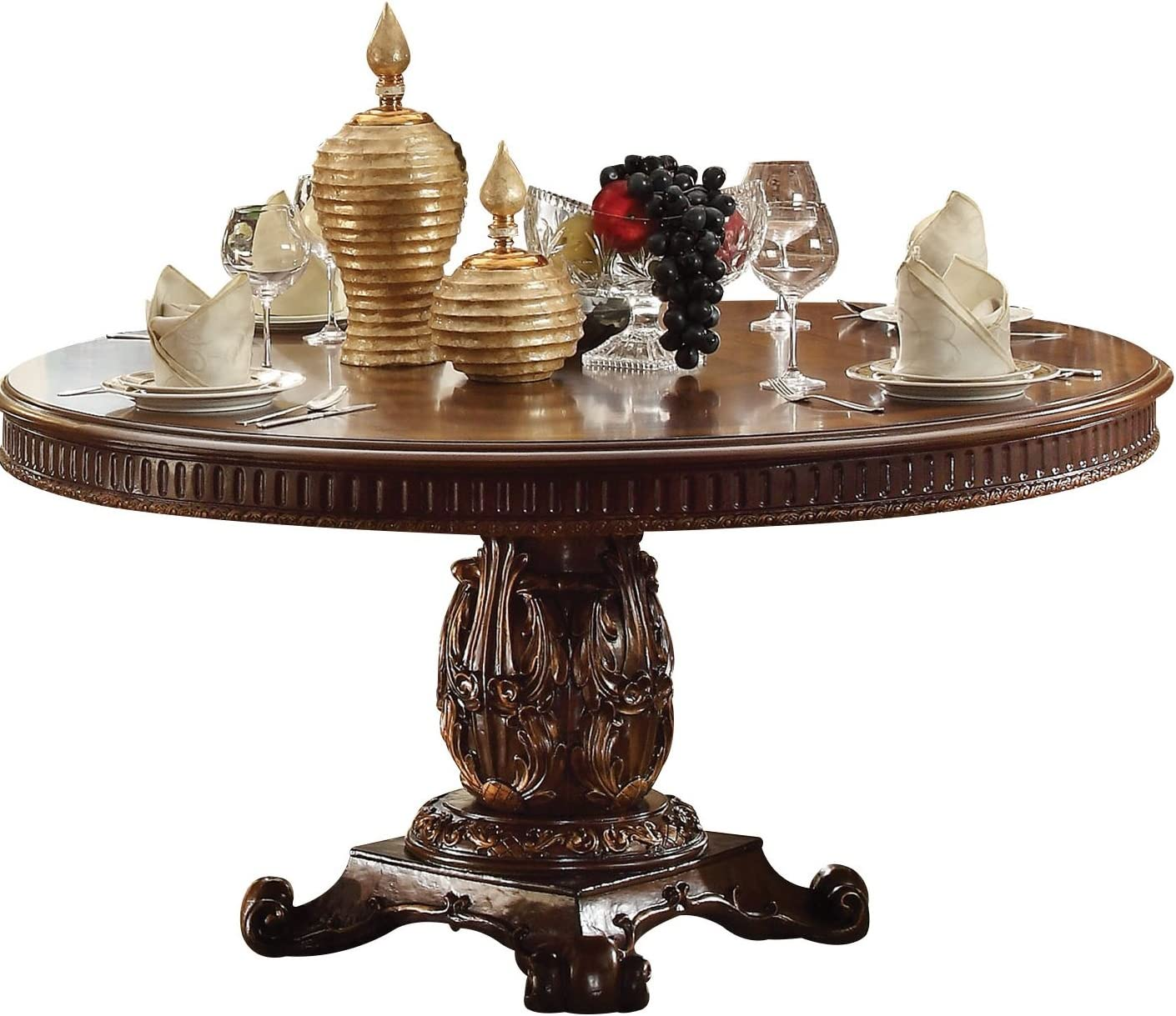 ACME Furniture Vendome Pedestal Dining Table