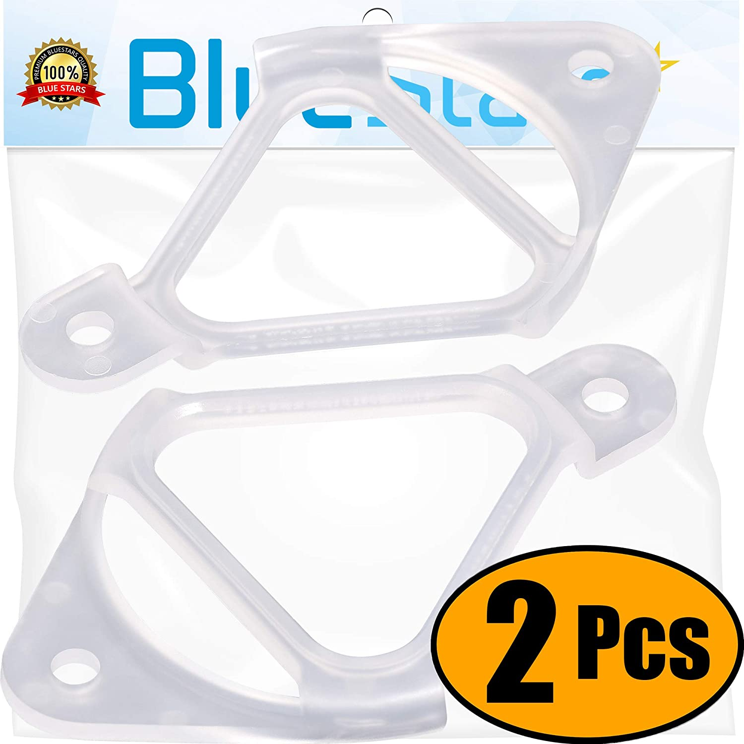 Ultra Durable WH16X513 Washer Drain Hose Clip Replacement Part by Blue Stars – Exact Fit For GE & Hotpoint Washers - Replaces AP2046140 WH16X0513 PS270508 - PACK OF 2