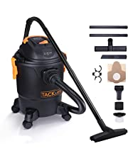 TACKLIFE Wet Dry Vacuum, 1000W 18.9L Capacity Wet and Dry Vacuum Cleaner 3 in 1 5.5Peak HP Vac Cleaner with Blowing Function, All Accessories Included - PVC04A