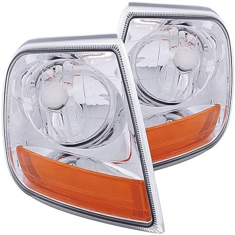 Amazon Com Anzo Usa 521026 Ford Expedition Euro Lighting Style