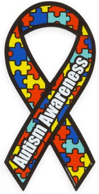 April is Autism Awareness Month! Autism Awareness Car Magnet