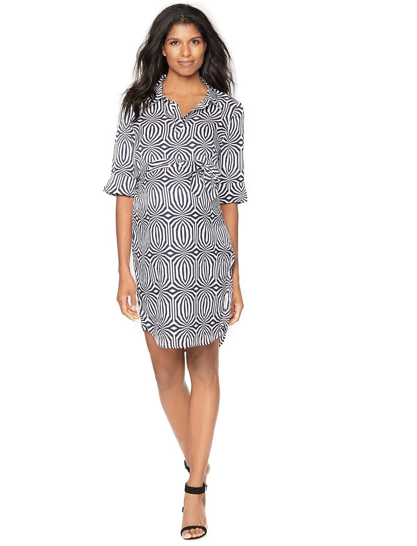 8bd5b1b1e0360 Laundry by Shelli Segal Sash Belt Maternity Dress at Amazon Women's  Clothing store:
