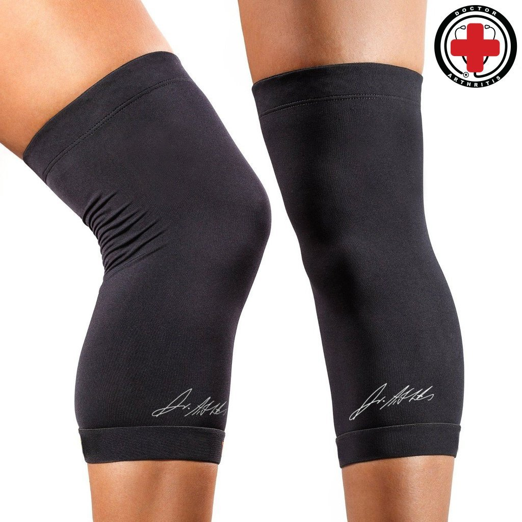 1bdd6e248d Details about Doctor Developed Copper Knee Brace & Knee Compression Sleeve  AND DOCTOR WRITTE.