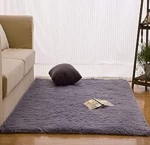 WSJTT Rugs, Pads & Protectors Area Rugs Nordic Home White Living Room Coffee Table Bedroom Full Bed Blanket Cloakroom Mat Bay Window Blanket (Size : 1.6×2.3M)