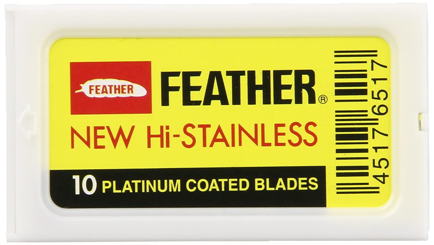 Feather Double Edge Blades, 10 Count FEATHER6517