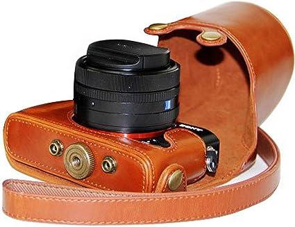 Megagear Megagear Rx1 Ever Ready Leder Kameratasche Mit Kamera