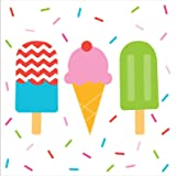 Ice Cream Party Lunch Napkins