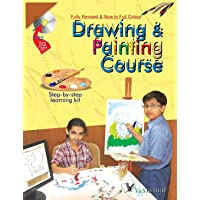 Drawing & Painting Course  with CD: Learn How To Draw Lines, Sketches, Figures