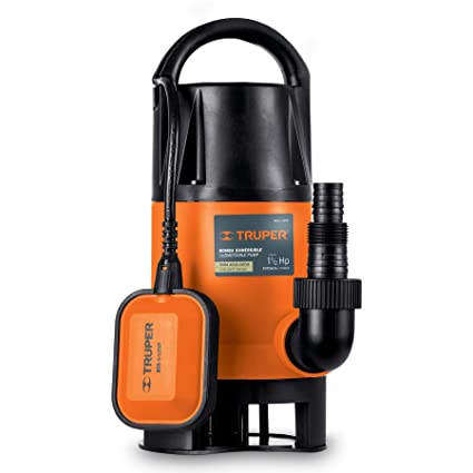 Amazon.com : Truper Submersible Pump for Dirty Water 900W, Float Switch, Plastic Connector with Hose Adapter, #12604 : Everything Else