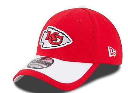 ab8a7b6ae05 Amazon.com   Kansas City Chiefs New Era 39THIRTY NFL 2015 On-Field ...