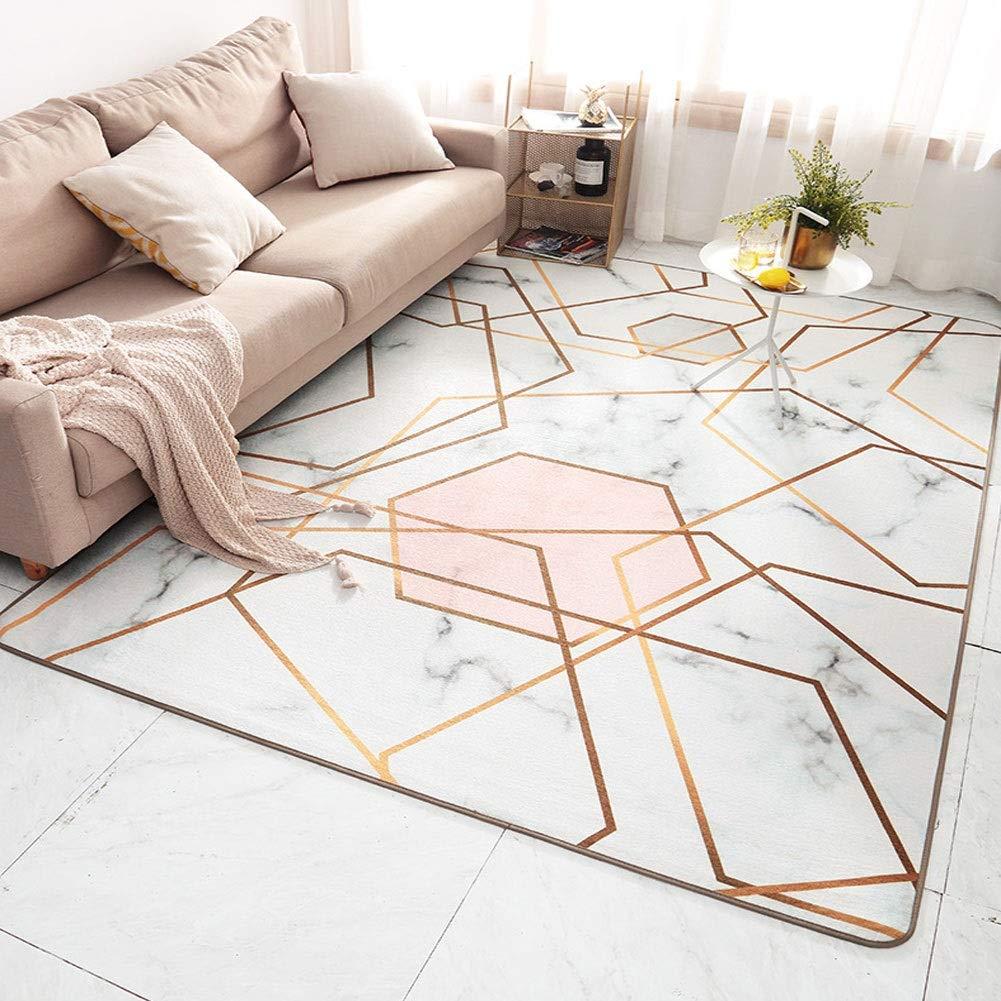 QFLYラグ エリアラグモダンな幾何学的なデザインカーペット現代的なマット抽象的敷物モダンな家の装飾の三角形の敷物(6mmの厚さ) (Color : B, Size : 200X300cm) 200X300cm B B07SWVT5DK