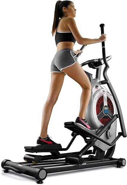 BH Fitness 859 NSW Front I.CROSS1000 G872I-Bicicleta elíptica para ...