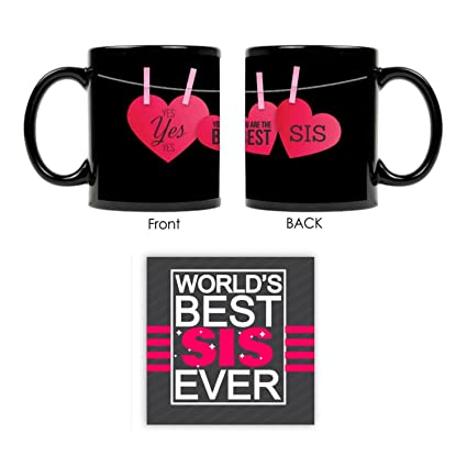 Buy Giftsmate Bhaidooj Gifts For Sister Mug You Are The Best Combo Coaster Set Of 2 Birthday Online At Low Prices In India