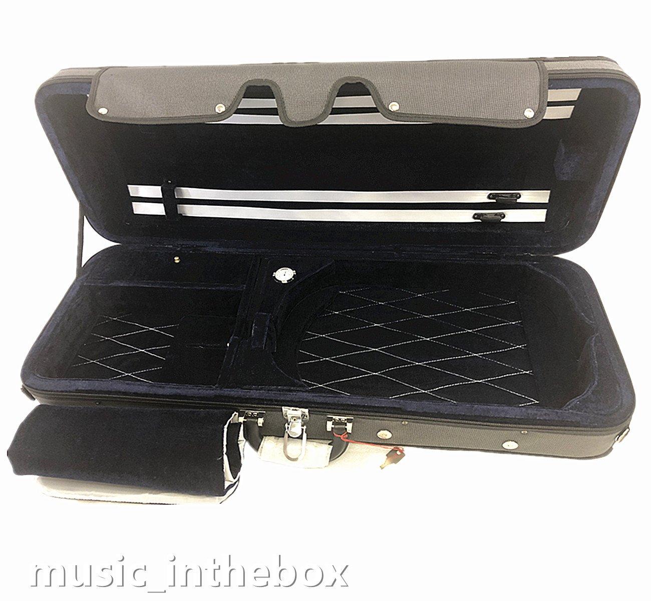 New Enhanced Foamed Viola Case / Adjustable Fit 15