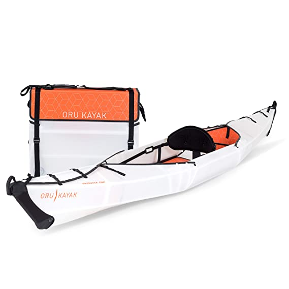 Oru Kayak Foldable Kayak - Stable, Durable, Lightweight Folding Kayaks for Adults and Youth - Lake, River, and Ocean Kayaks - Perfect Outdoor Fun Boat for Fishing, Travel, and Adventure