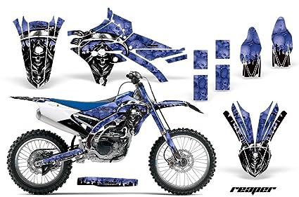 Amazon com: Yamaha YZ250F YZ450F 2014-2017 MX Dirt Bike Graphic Kit
