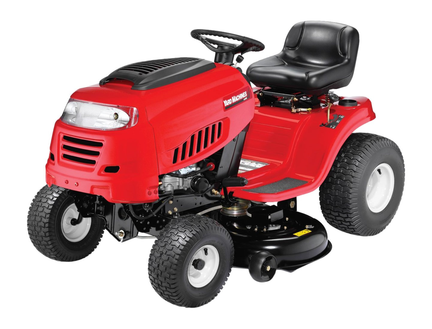 Amazon.com : Yard Machines 420cc 42-Inch Riding Lawn Tractor : Garden &  Outdoor